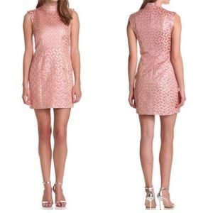 French Connection Dresses - French Connection Women's Pink Tunnel Vision Dress